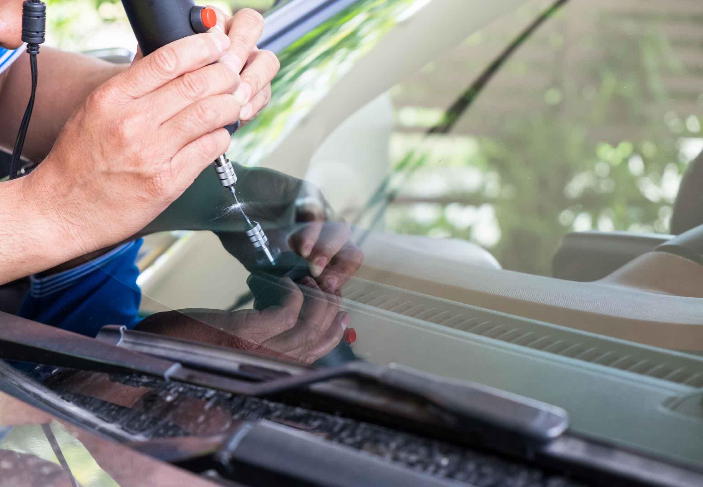 Window chip repair